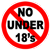 No Under 18 Permitted to Gamble